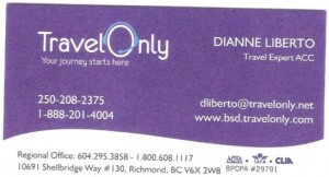 Travel Only - Dianne Liberto